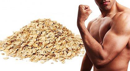 la avena para crecer musculo