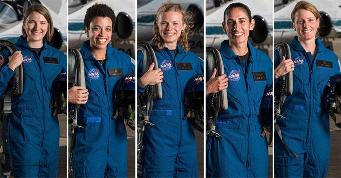 mujeres en la NASA