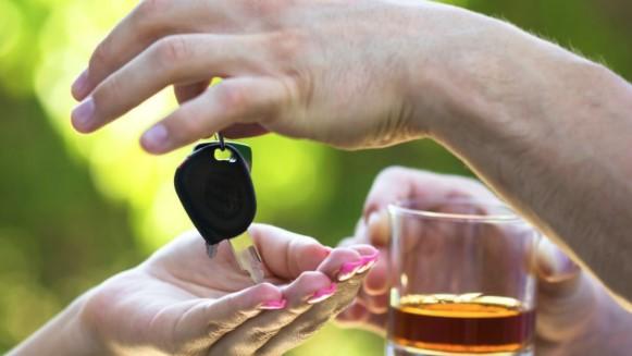peligro de conducir bebido