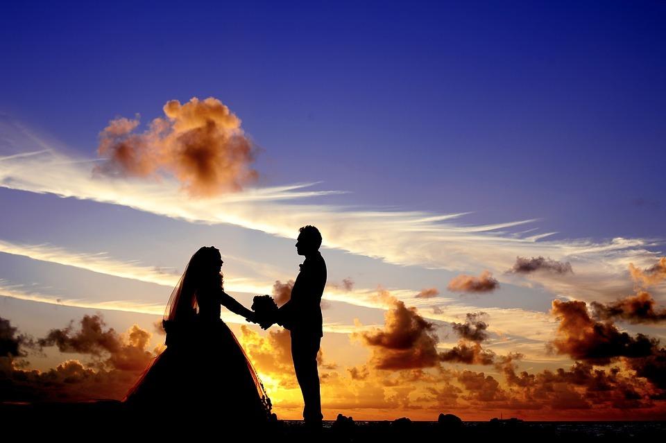 boda con drones