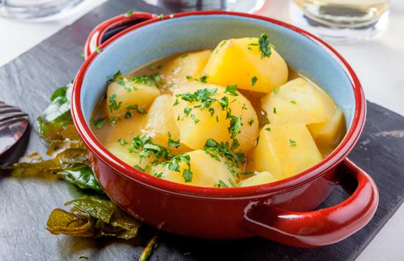 Patatas a la viuda