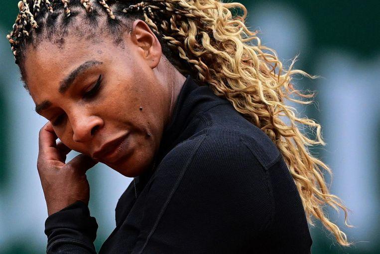 Tenis: Serena Williams se retira del Abierto de Francia debido a una lesión en el tendón de Aquiles.
