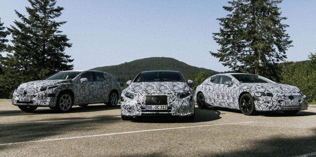 Mercedes confirma SUV EQS y EQE, gama completa de modelos EV