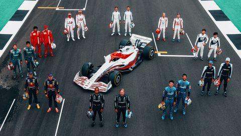 2022 coche de fórmula 1